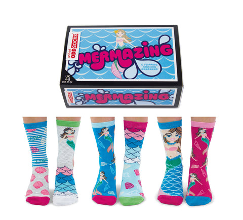 Odd Socks Ladies - Mermazing