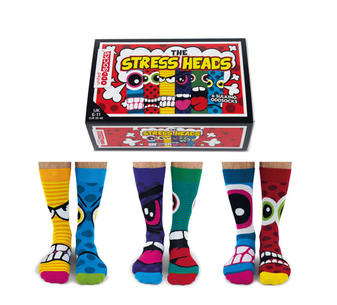 Mens Socks - Stress Heads