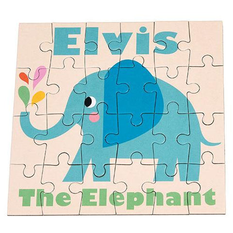 Mini Puzzle - Elvis Elephant