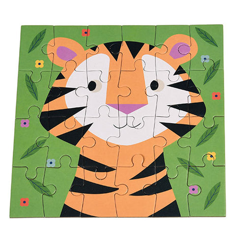 Mini Puzzle - Teddy The Tiger