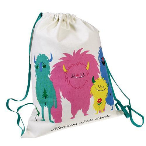 Drawstring Bag - Monsters