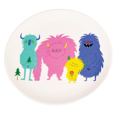 Melamine Plate - Monsters