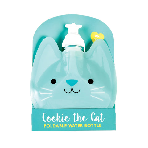 Cat Folding Water Bottle