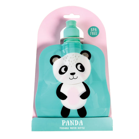Panda Folding Water Bottle