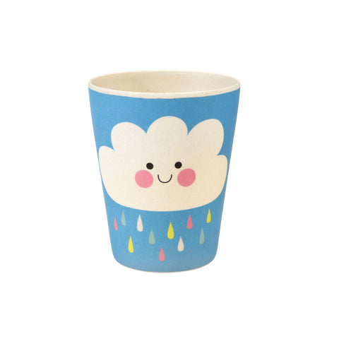 Bamboo Beaker - Happy Cloud