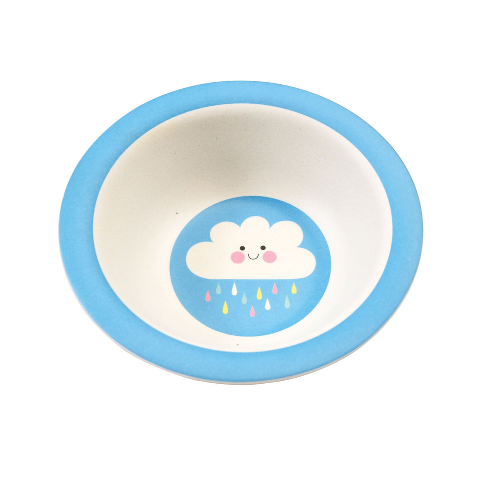 Bamboo Bowl - Happy Cloud