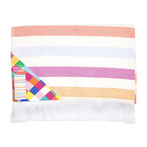 Fouta Towel Block Party | Sunnylife