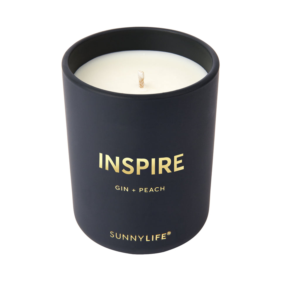 Gin and Peach Small Scented Candle | Sunnylife