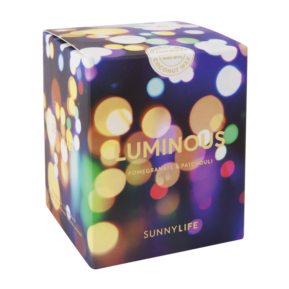 Luminous Scented Candle Small | Sunnylife