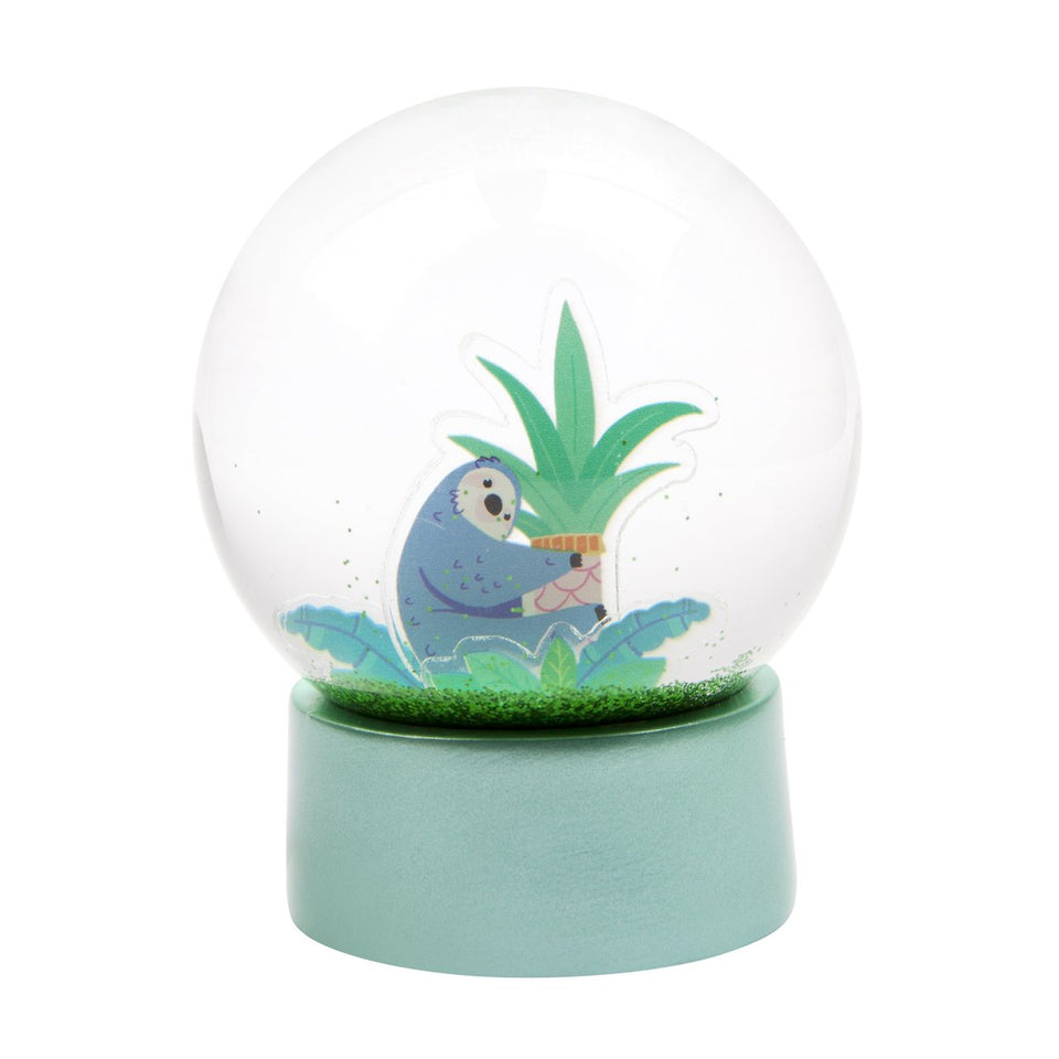 Sloth Glitter Globe Jungle | Sunnylife