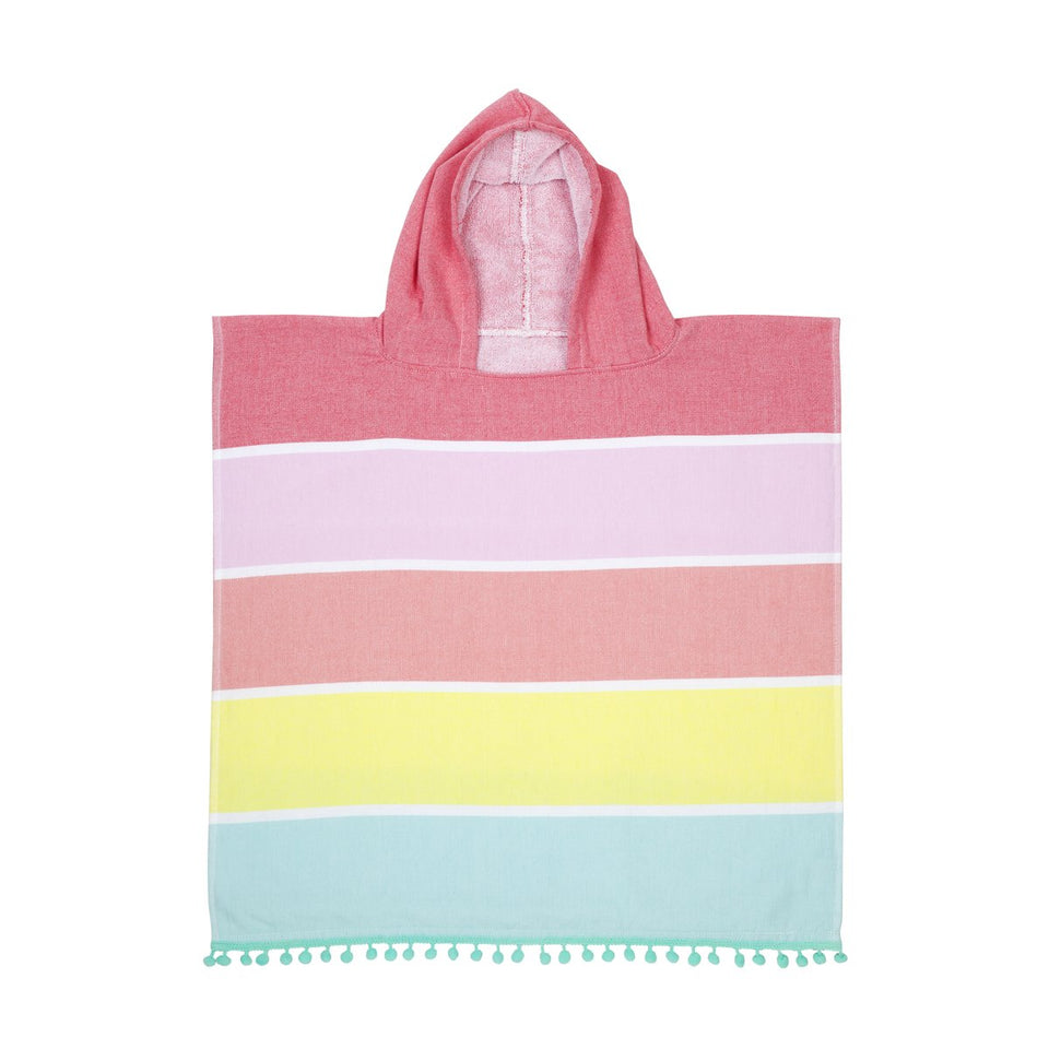 Kids Hooded Fouta Towel Girl | Sunnylife