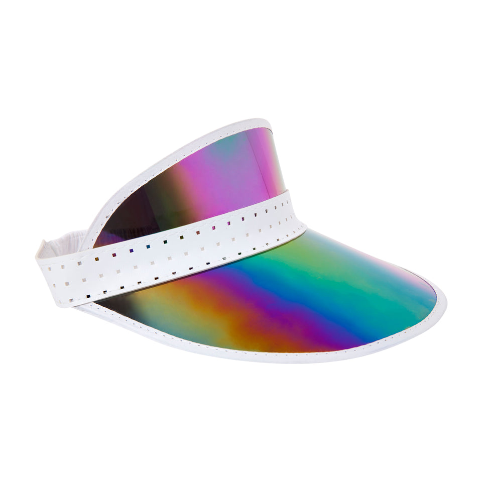 Retro Sun Visor Midnight Iridescent