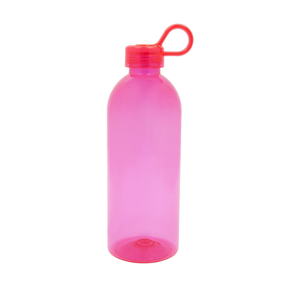 Beach Water Bottle Neon Pink | Sunnylife