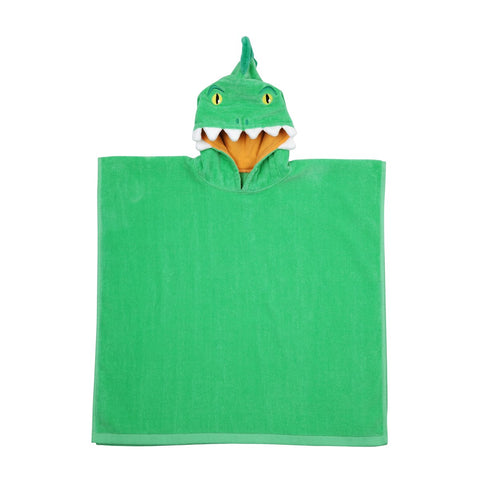 Crocodile Kids Hooded Beach Towel