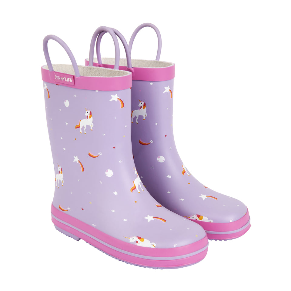 Kids Rain Boot Stardust (3-4 year olds) | Sunnylife