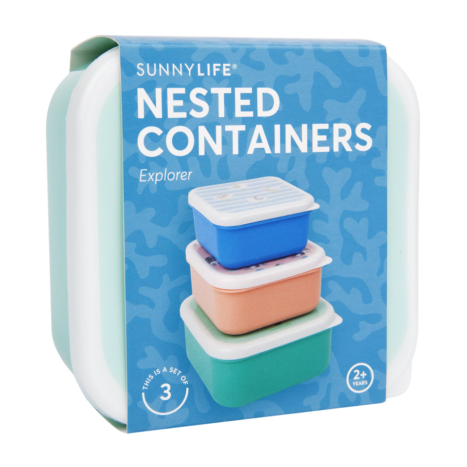 Nested Containers Explorer S3 | Sunnylife
