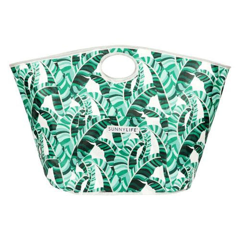 Carryall Beach Bag Banana Palm