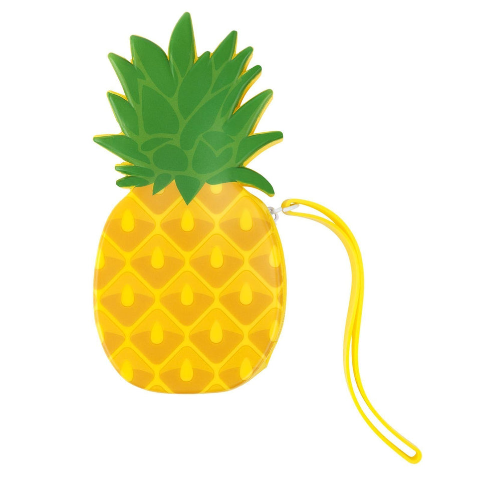 Pineapple Silicone Coin Pouch