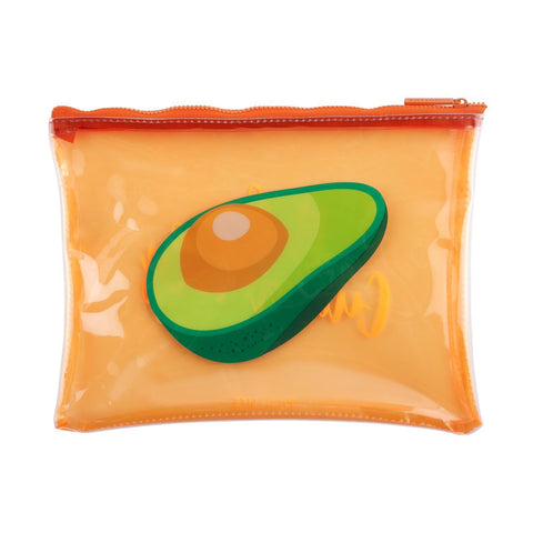 See Thru Pouch Avocado
