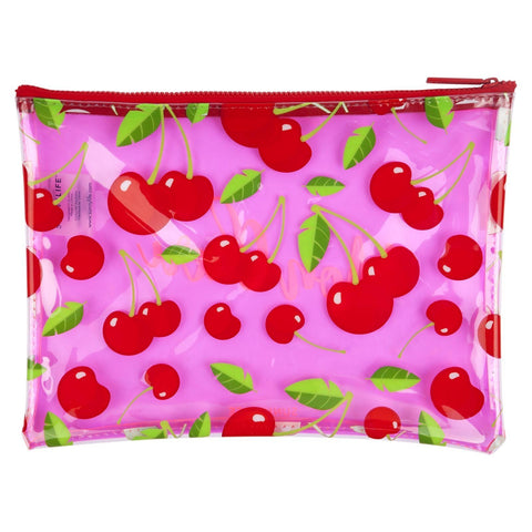 See Thru Pouch Cherry