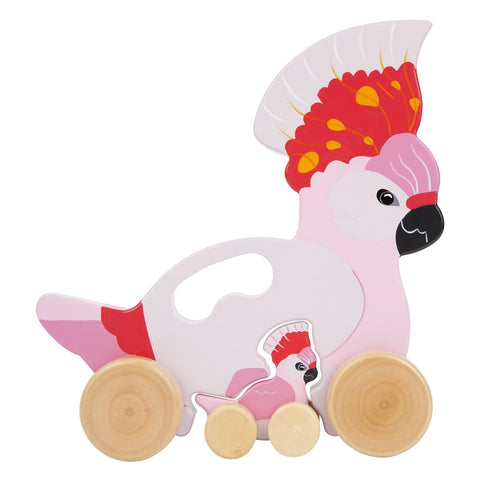 Push n Pull Toy Cockatoo