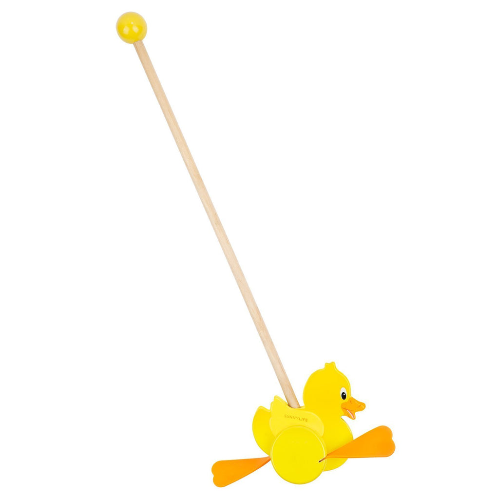 Push Along Toy Ducky