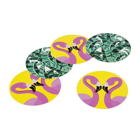 Reversible Coasters Tropical