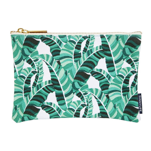 Travel Pouch Large Banana Palm