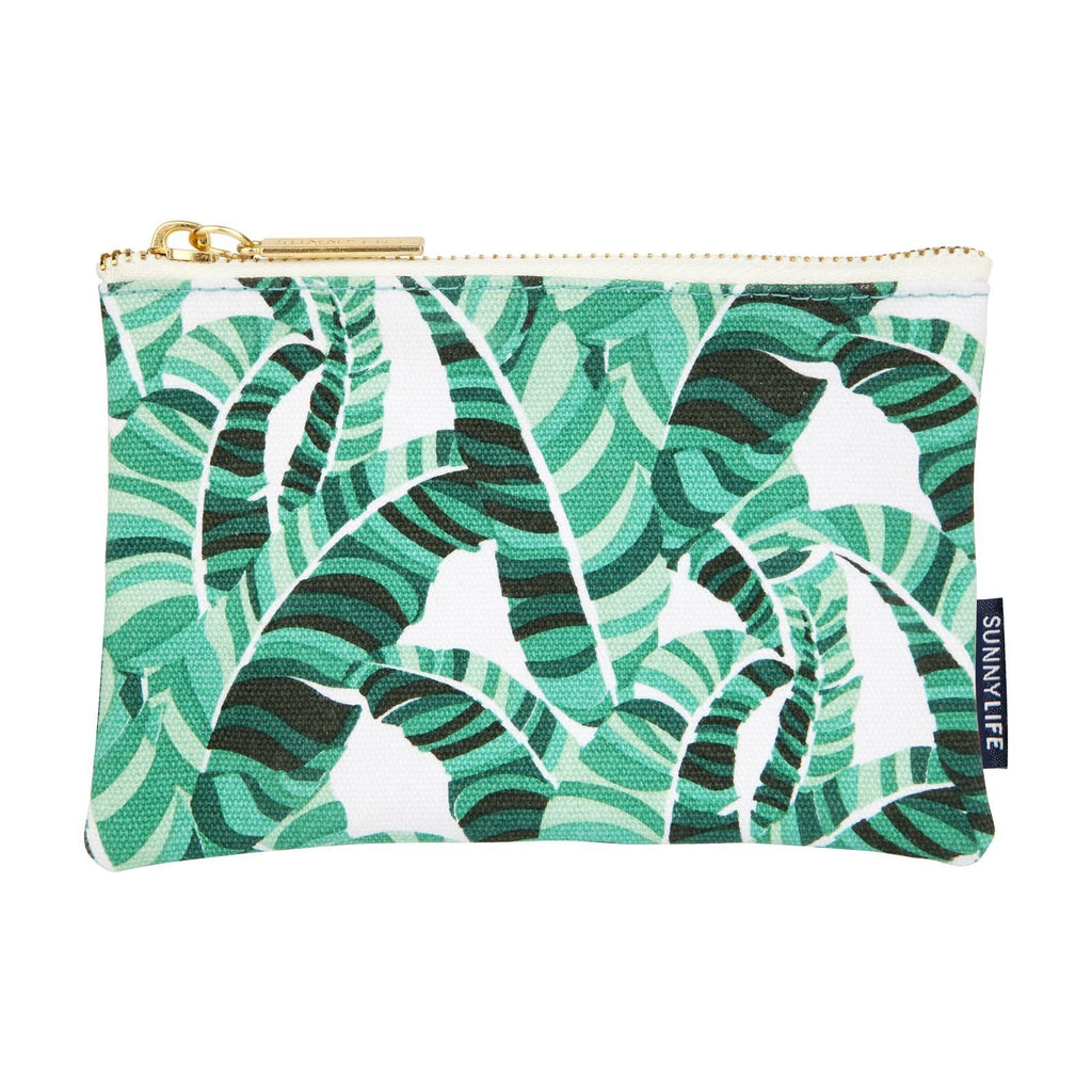 Travel Pouch Small Banana Palm
