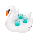Inflatable Drink Holder Swan