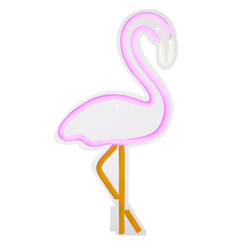 Flamingo Neon Wall Light Large