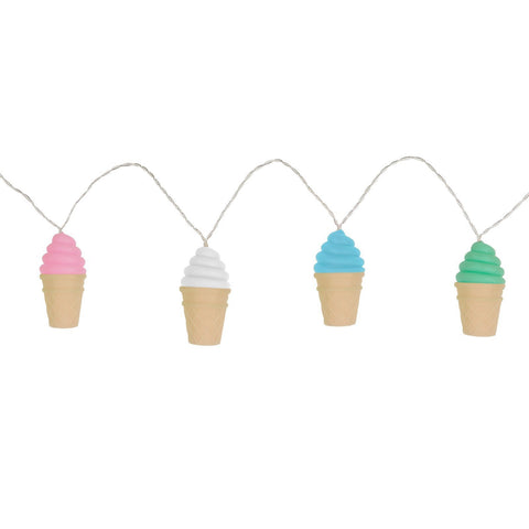 Ice Cream Soft Touch String Light