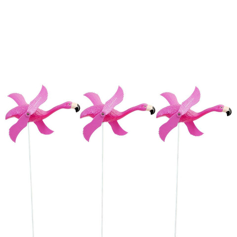 Garden Wind Fans Flamingo