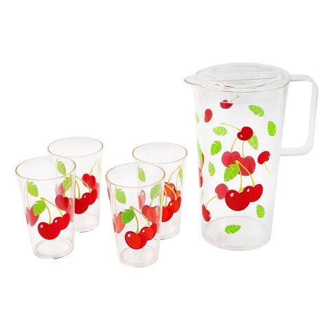 Party Drinkware Set Cherry