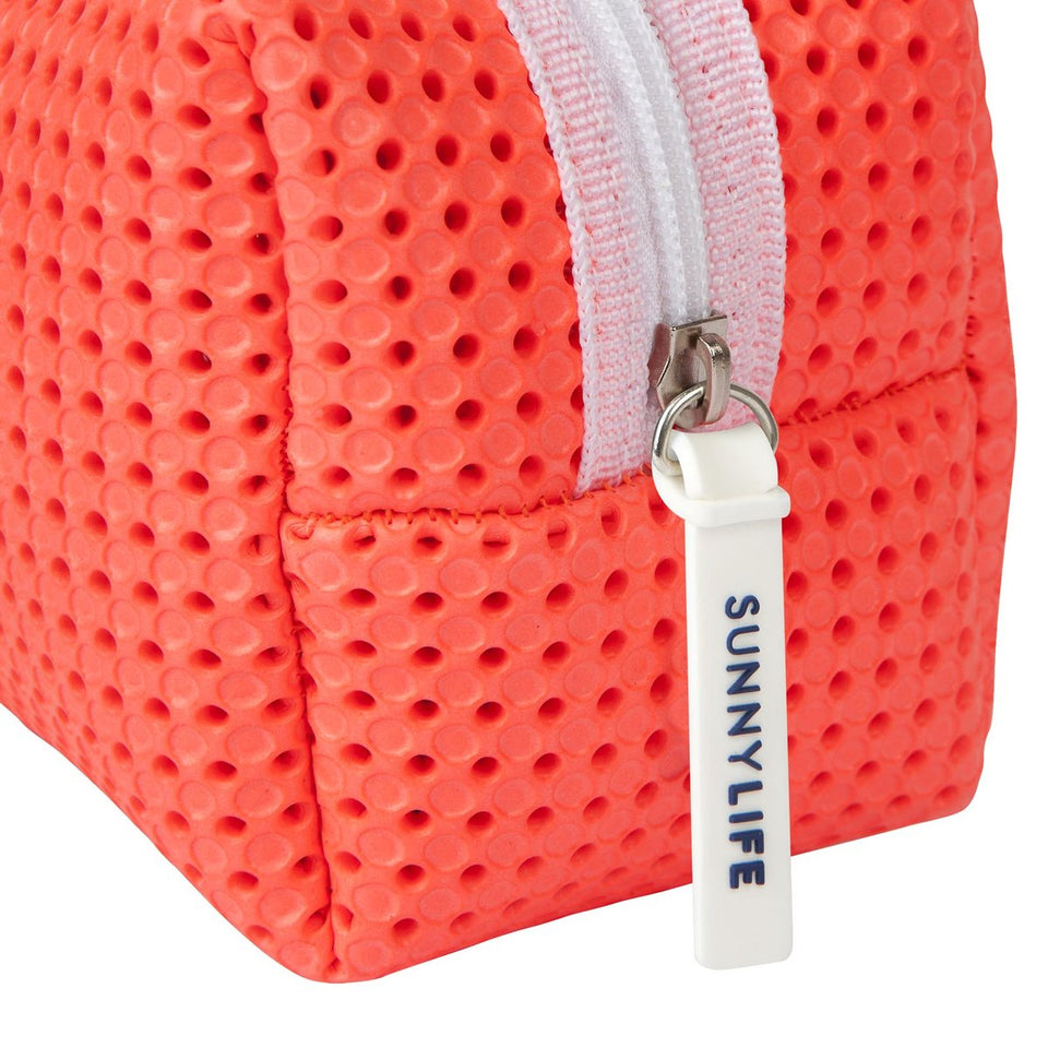Refresh Cosmetic Bag Neon Coral | Sunnylife