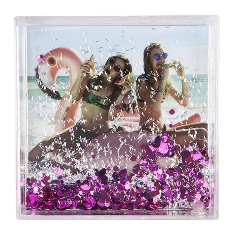 Picture Frame Square Flamingo