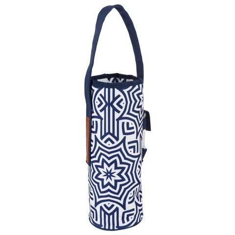Cooler Bottle Tote Azule