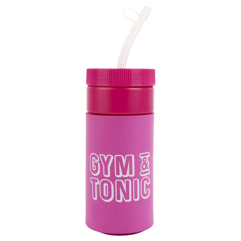 Retro Sipper Neon Pink