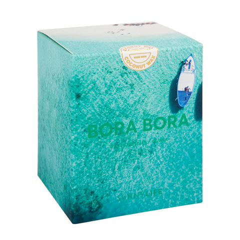 Small Scented Candle Bora Bora