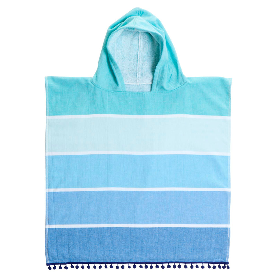 Kids Cotton Hooded Fouta Towel Boy | Sunnylife