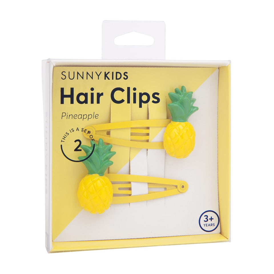 Hair Clips | Pineapple