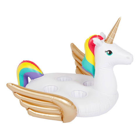 Inflatable Family Drink Holder Unicorn