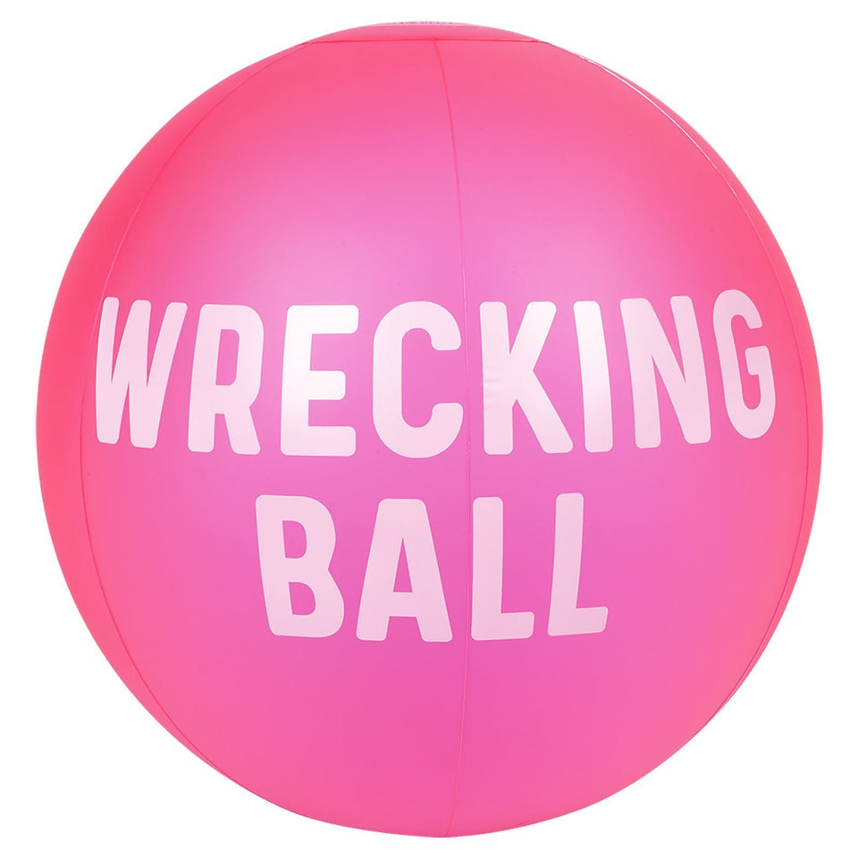 Inflatable Beach Ball XL | Neon Pink