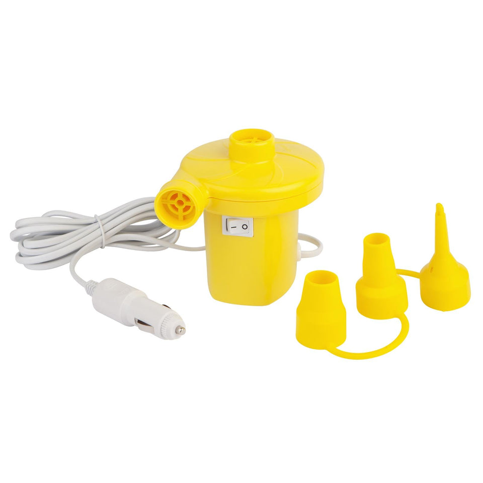Car Air Pump Neon Yellow