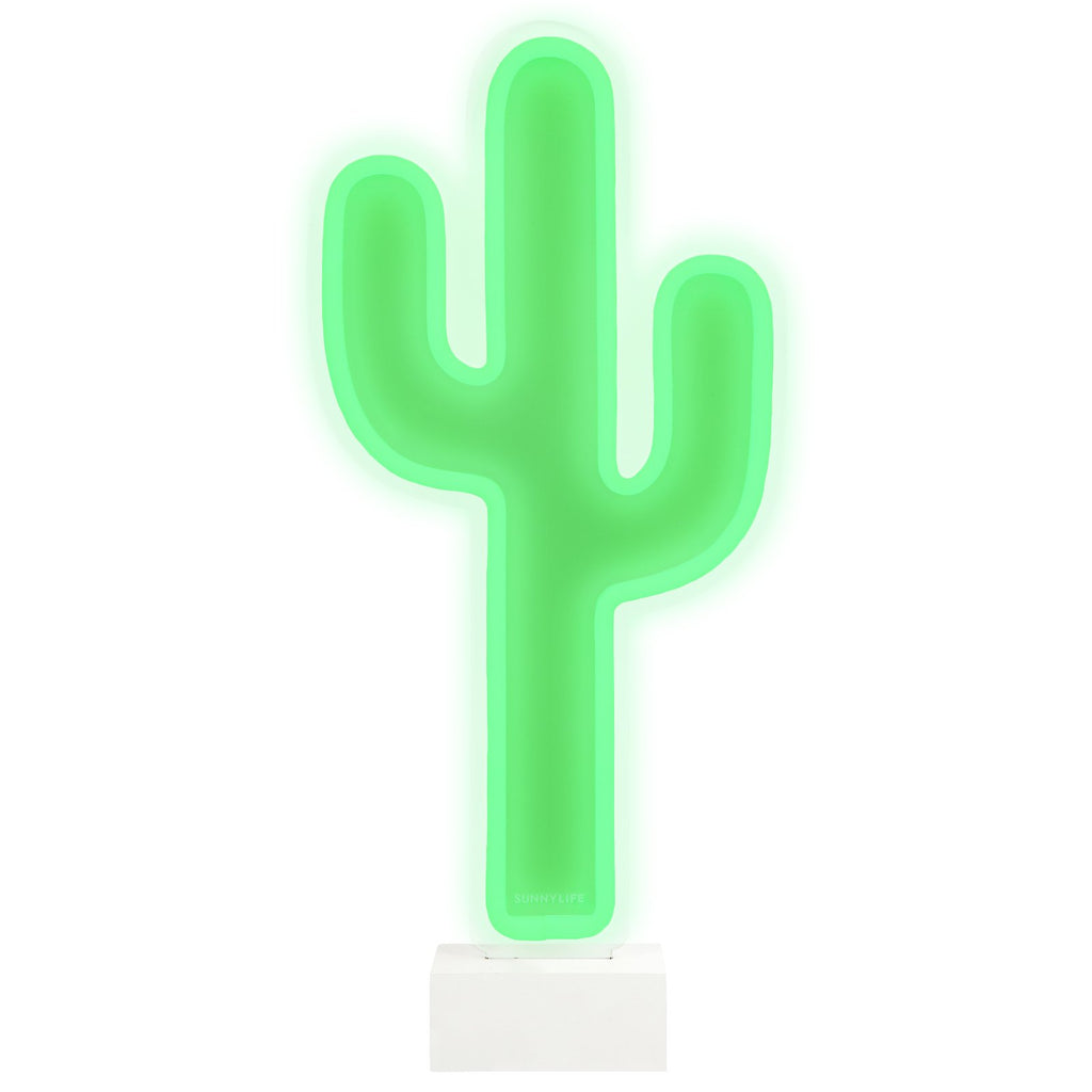 Neon LED Light Cactus