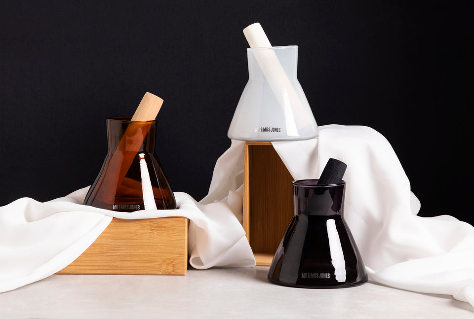 Wooden Reed Diffuser Onyx