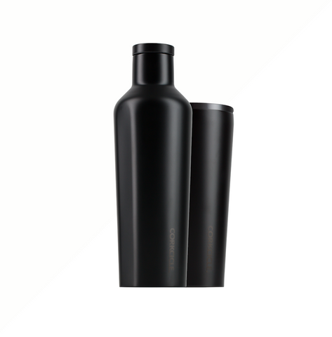 Corkcicle 16oz Canteen Dipped Blackout