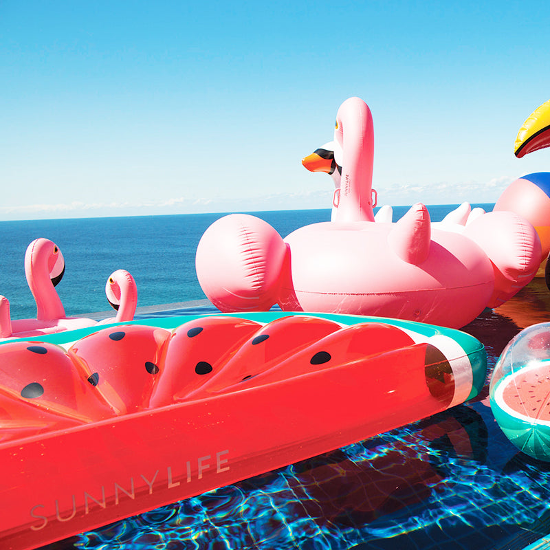 Luxe Lie-On Float Watermelon SS1 | Sunnylife