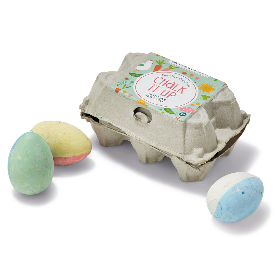 Egg Chalks in Egg Crate Gift Box Set