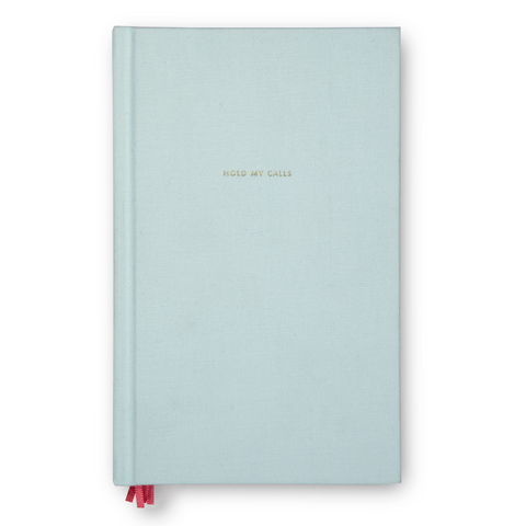 Kate Spade Linen Journal | Hold My Calls